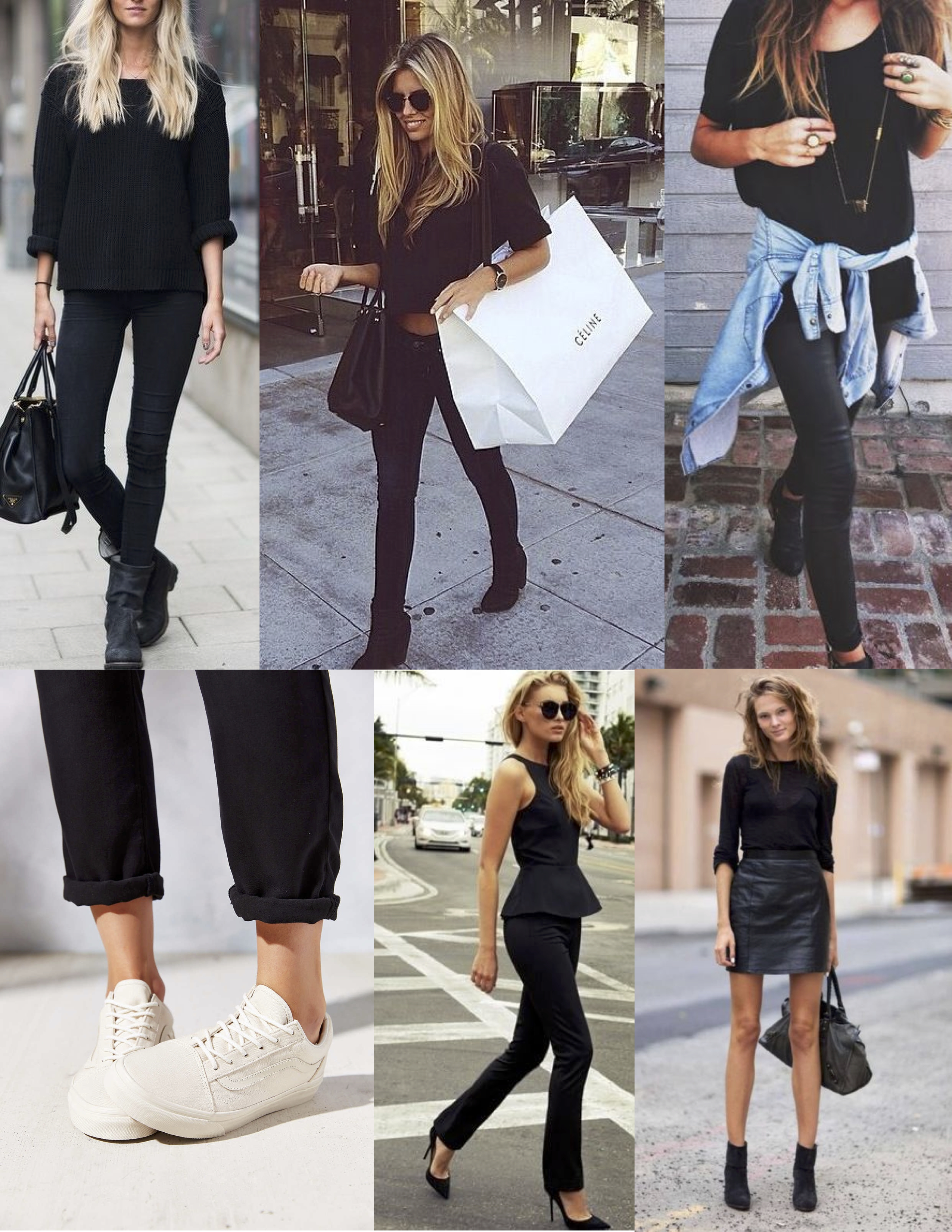 Black Casual Outfits   www.pixshark.com - Images Galleries With A Bite!