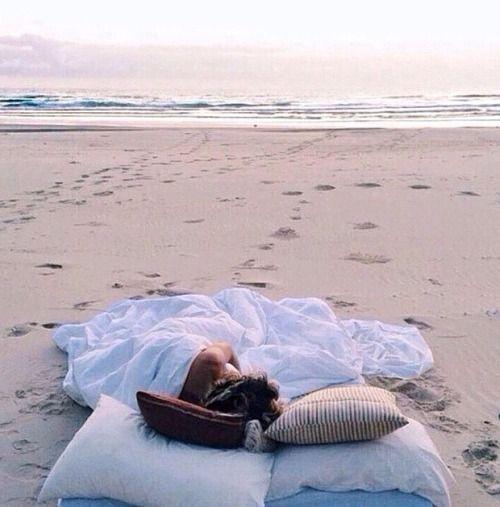 beach nap